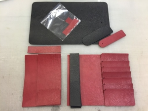 the leather pieces to use