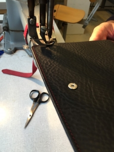 stitching outside part