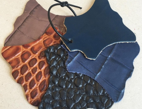Samples of the new color