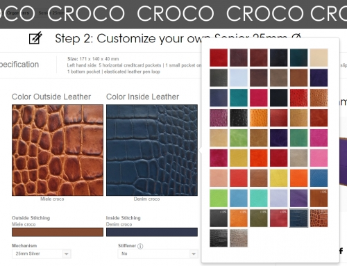 NEW – Croco leathers