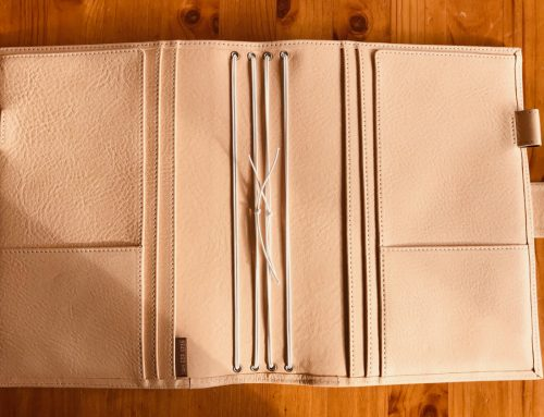 Special Custom Made A5 Nomad (TN Cover) in JL Undyed Leather