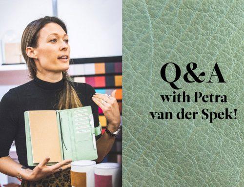 Q&A with Petra van der Spek