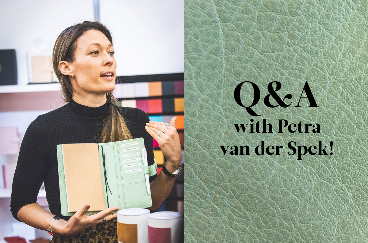 Q&A with Petra van der Spek - Blog Vdsshop